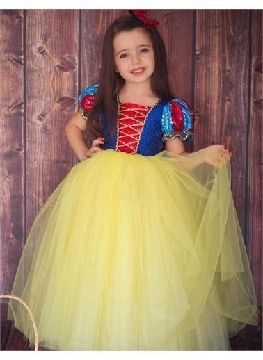 Riccotarz Kız Çocuk Pulpayet Pamuk Prenses Kostüm Renkli